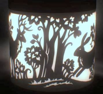 Photo of the Week: a new artform – Solar lantern paper cuts