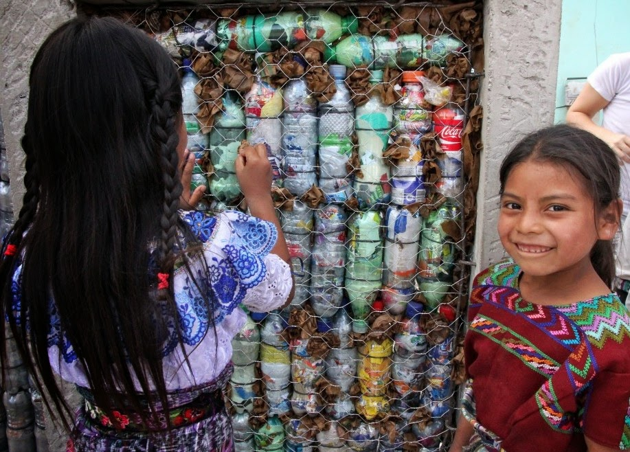 Bottle Bricks: Upcycyling Plastic, Building Schools