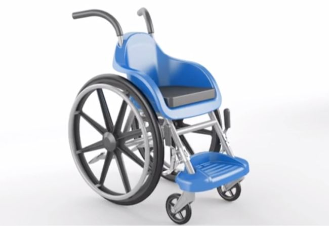 An Affordable, Adorable Wheelchair