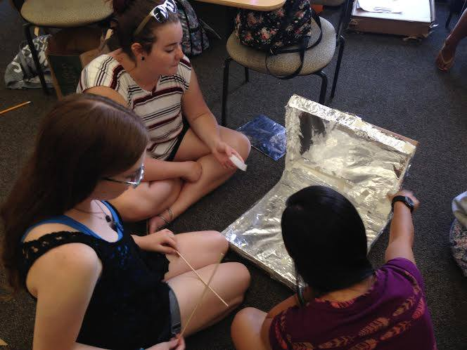 STEM Summer Students Design Solar Stoves, by Sophia Gluskin-Braun (Brown '18)