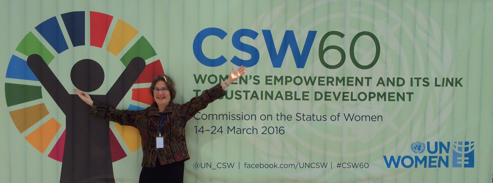 At the UN for CSW60